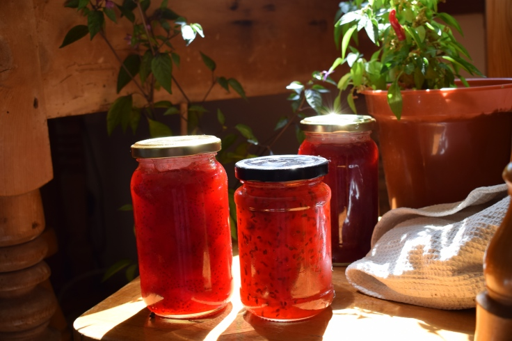 Gooseberry and Ginger jam recipe