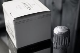 Champagne Lallier packaging