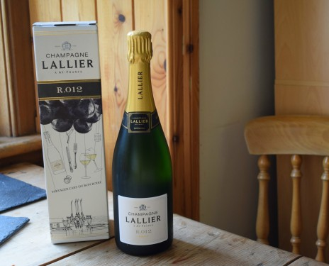 Champagne Lallier - R.012 review by Crumbs and Roses blog