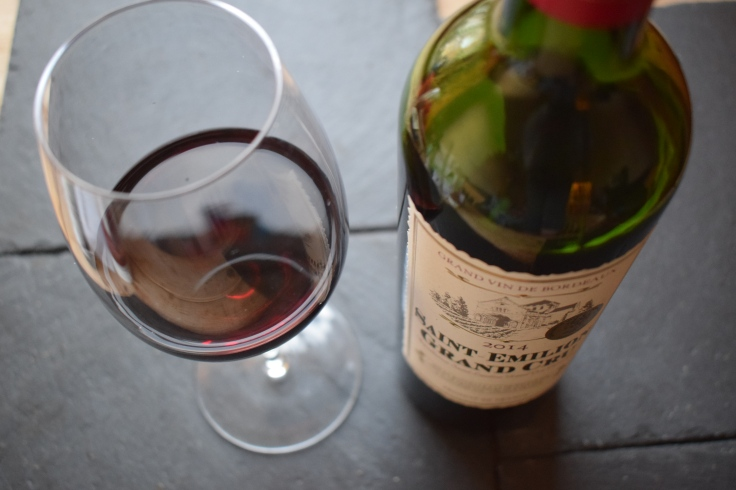Saint Emilion Grand Cru wine review (Lidl) via Crumbs and Roses