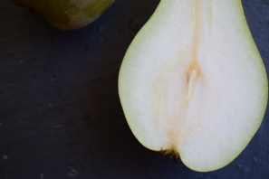 Still life pear detail - food photograph from Crumbs and Roses blogs