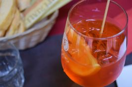 Aperol Spritz - a daily necessity in Venice Italy (Crumbs and Roses blog)