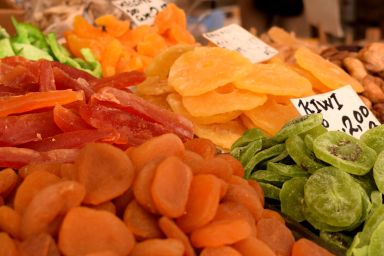 Candied fruits from the market - Crumbs and Roses blog