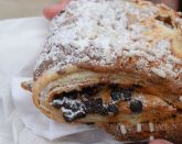 Fresh chocolate and almond pastry - Venice Italy (Crumbs and Roses blog)