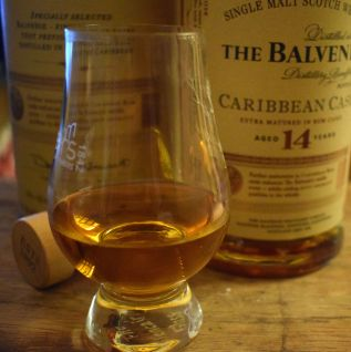 Balvenie 14 year old Scotch whisky - tropical and ginger notes go perfectly with this pineapple tarte tatin recipe