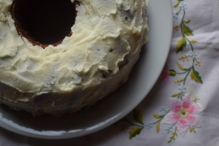 Neopolitan marble cake - book review recipe testing