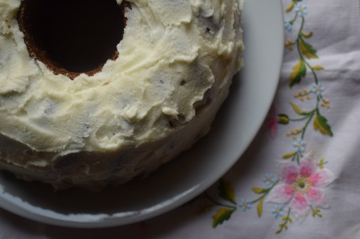 Neopolitan marble cake - book review recipe testing
